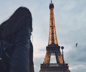 paris, travel, and couple image