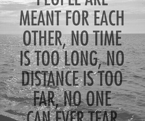 love, quotes, and distance image