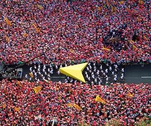 Barcelona, catalunya, and flags image
