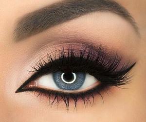 makeup, beauty, and eye image