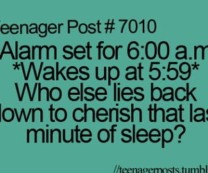 funny, sleep, and teenager post image