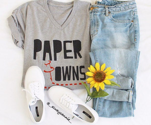 fashion, outfit, and paper towns image