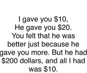 he, love, and money image
