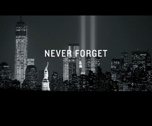 never forget and twin towers image