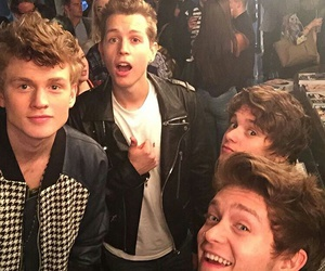 bradley simpson, the vamps, and tristan evans image