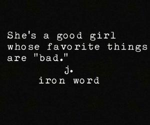 bad girl and good girl image