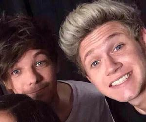 niall horan and louis tomlinson image