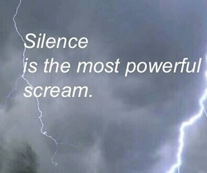silence, quotes, and scream image