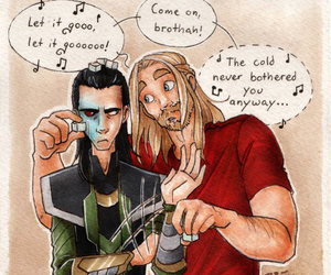 Avengers, funny, and thor image