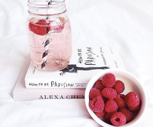 book, drink, and pink image