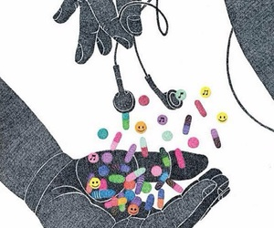 music and drugs image