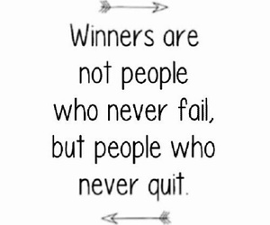 quote, winners, and motivation image