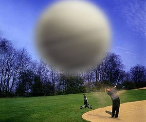 golf and ball image