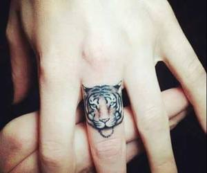 cool, lion, and tattoo image