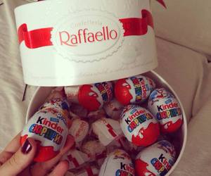 chocolate, raffaello, and kinder image
