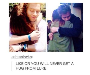 goals, tumblr, and luke hemmings image