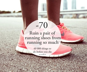 running, run, and shoes image