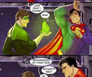 superman, batman, and green lantern image