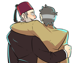 gravity falls, grunkle stan, and stanley pines image