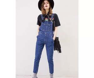 denim, jeans, and hat image