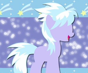 MLP, my little pony, and cloud chaser image