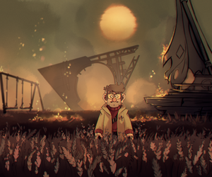 tlm, gravity falls, and stanford pines image