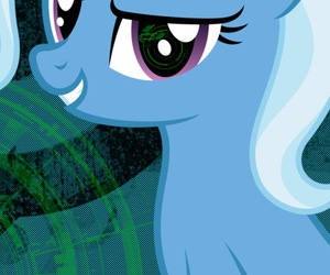 MLP, trixie, and my little pony image