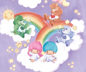 care bears and little twin stars image