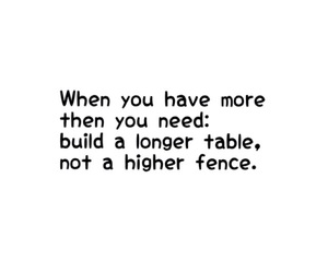 black and white, fence, and quote image