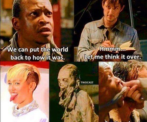 funny and walking dead image