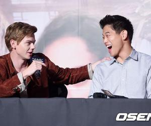 cast, ki hong lee, and interview image