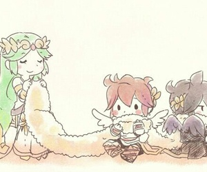 pit, palutena, and kid icarus image