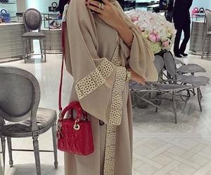 abaya, hijab, and style image