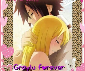 fairy tail, graylu, and gray image