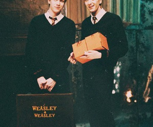 harry potter, weasley, and fred weasley image