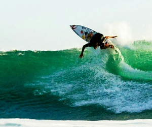 board, crystal clear, and rip curl image