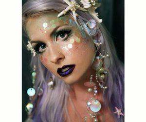 mermaid, costume, and Halloween image