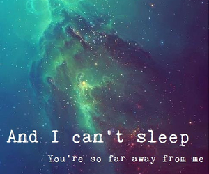 i cant sleep, above and beyond, and love image