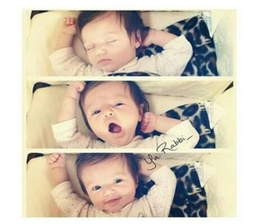 baby, cute, and sleep image