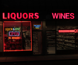 neon, glow, and wine image