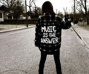music, grunge, and black image