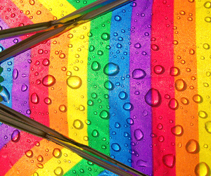 colors, rainbow, and drop image