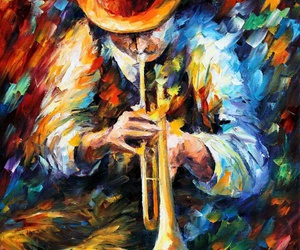 art, music, and colorful image