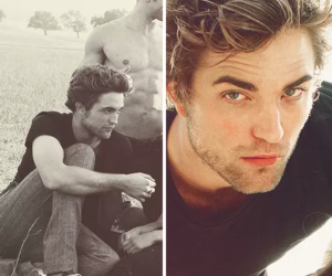 crazy, robert pattinson, and eyes image