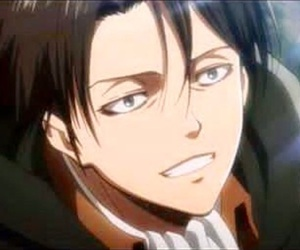 anime, attack on titan, and levi ackerman image