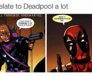 comics, deadpool, and dp image