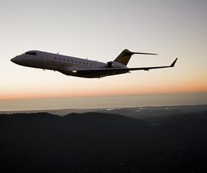 sky, airplane, and plane image