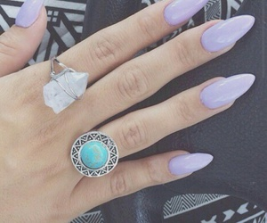 purple and rings image