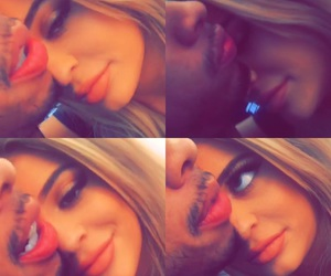 kylie jenner, couple, and tyga image