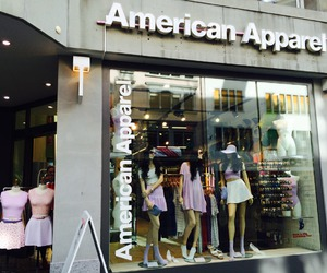 american apparel, shop, and store image